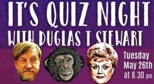 quiz night with duglus may 26