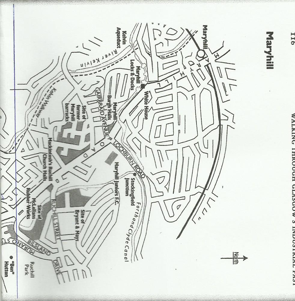 Maryhill Map