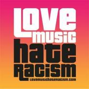 love music hate racism logo