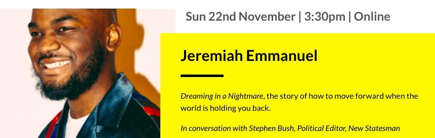 jeremiah emmanuel cambridge boo fest