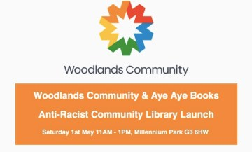 antracist community library woodlands