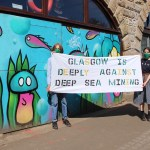 Greenpeace Glasgow Group joins nationwide protest against deep sea mining