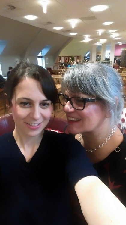 francesca me and mum