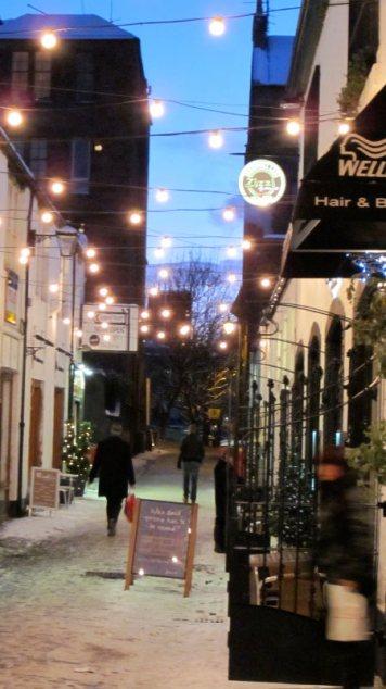cresswell lane winter