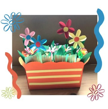 paper window box
