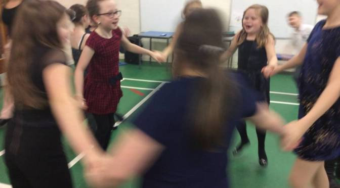 P5 Christmas party