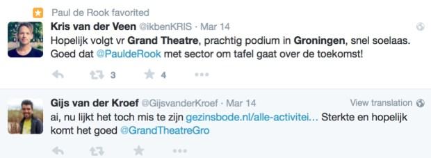 Tweets Grand Theatre