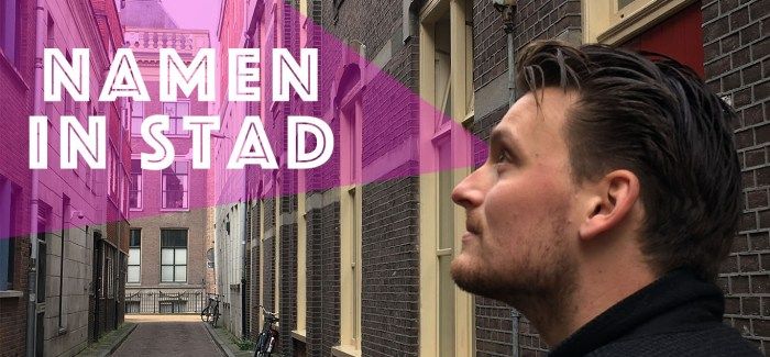 Namen In Stad #4: Thomsonstraat