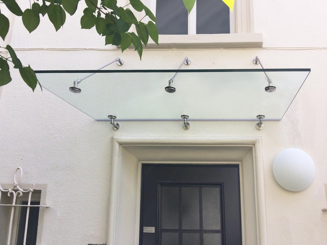 Vordächer Aus Glas Nach Maß - Glasvordach | Glasprofi24