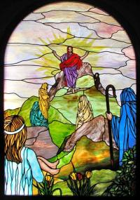 Bethany Lutheran Church Chapel Leaded Stained Glass Window ...