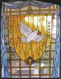 Prince of Peace Religious Leaded Stained Glass Church ...