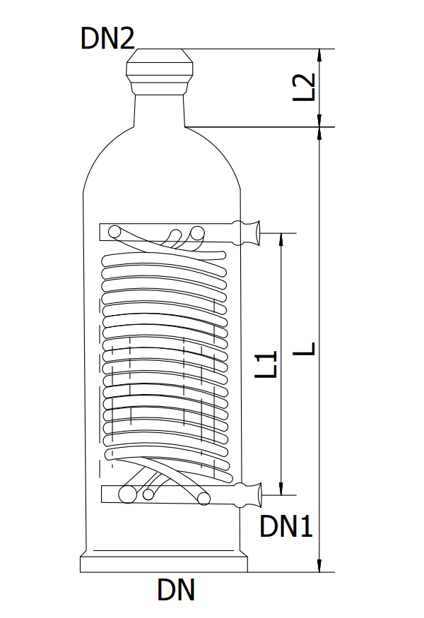 Glass Apparatus for Distillation Equipment, Chemical And