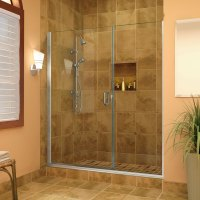 What can be the outcomes of having rolling shower doors
