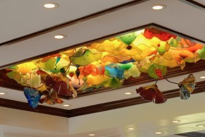 3D Glass Ceiling