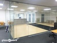 Pivot Frameless Glass Doors