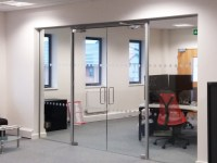 Glass Partitioning at Pruftechnik Ltd (Lichfield