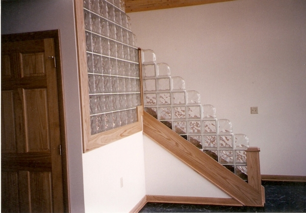 Erie Glass Block Install Photos  Glass Block Specialties