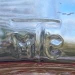 """""""M T C"""" mark on heel of milk bottle. (Photo courtesy of ebay seller Cawhite1946)"""