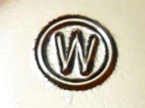W in side circle-Wheaton Glass