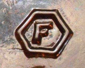 F in Hexagon - Fairmount Glass Company