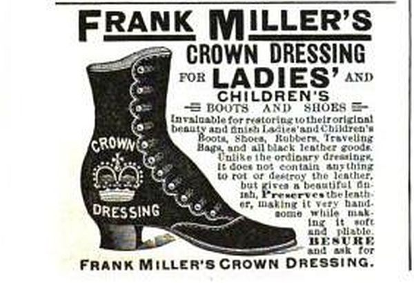 Frank Miller's ad - Century Illustrated Monthly Magazine, 1891