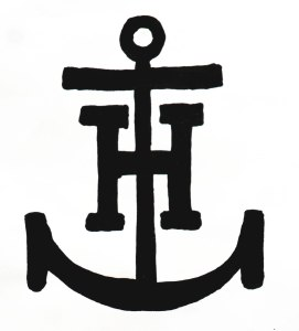 "Anchor Hocking Glass Corporation ""Anchor and H entwined"" logo"