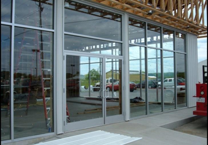 Single Glass Storefront Door
