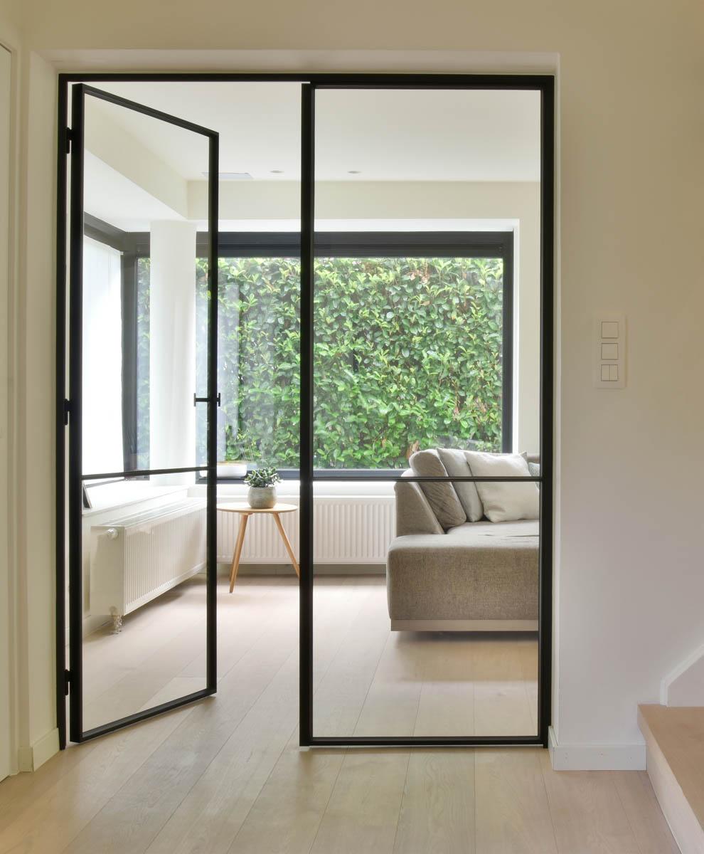 Stalen binnendeuren  Glassdesign  glazen deuren met