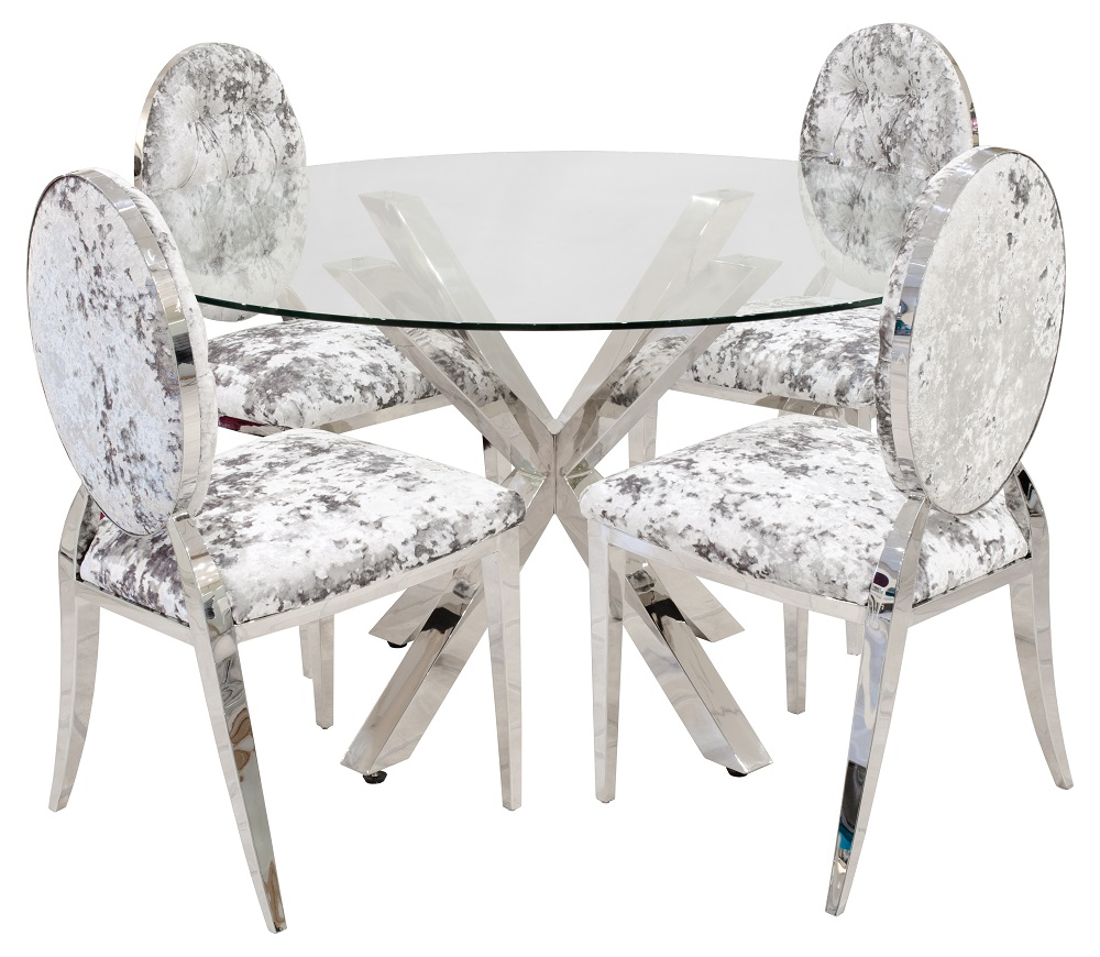 Crossley Glass Dining Tables