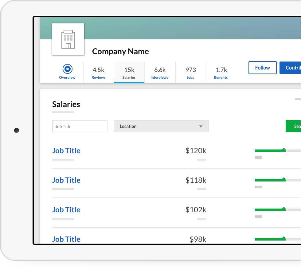 Company Salaries | Glassdoor