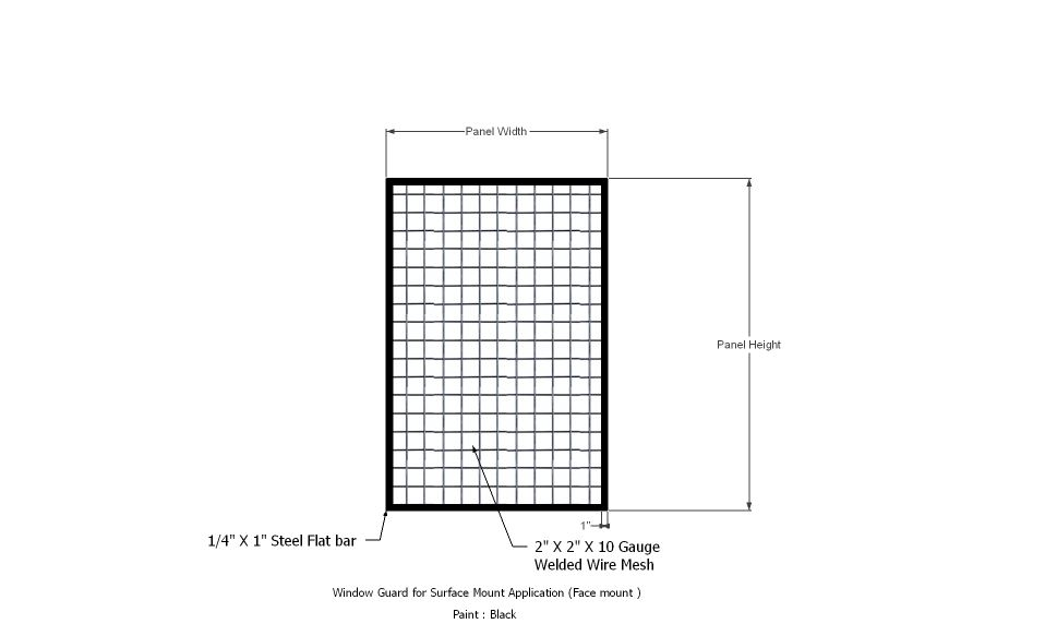 Window Security Bars, Gates and Grille