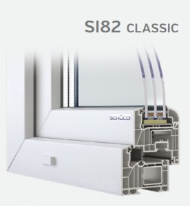SCHUCO SI82 classic fenêtres BBC pvc