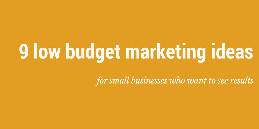 budget for small business