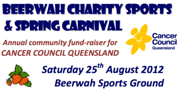 Beerwah Charity Sports and Spring Carnival Saturday 25th August 2012
