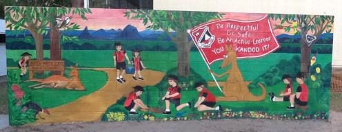 Mural at Beerwah State School