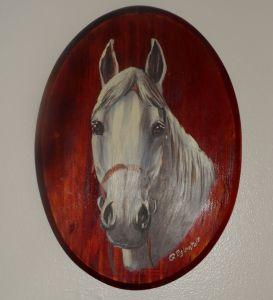 Horse by Artist Gundars Eglentals