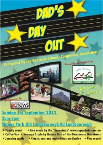 Dads Day Out at Skippy Park Sunday 1st September 2013