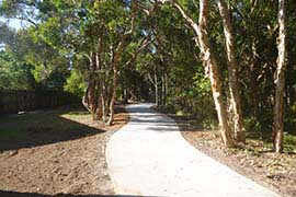 Coastal Pathway stretch between Currimundi Lake and Wurtulla is now complete