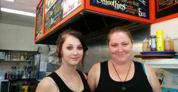 Meet the Shopkeeper: Pauline and Temeike from Neddy's Nosebag Cafe and Takeway