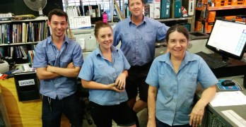 Meet the Team at the Coochin Creek Co-op (a helpful handful)