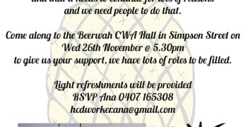 Come join the crew who helped plan and organise the Beerwah Celebration
