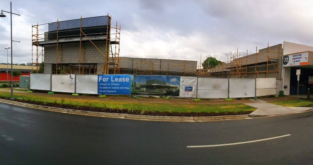 New Building going up in Beerwah Simpson Street 2014