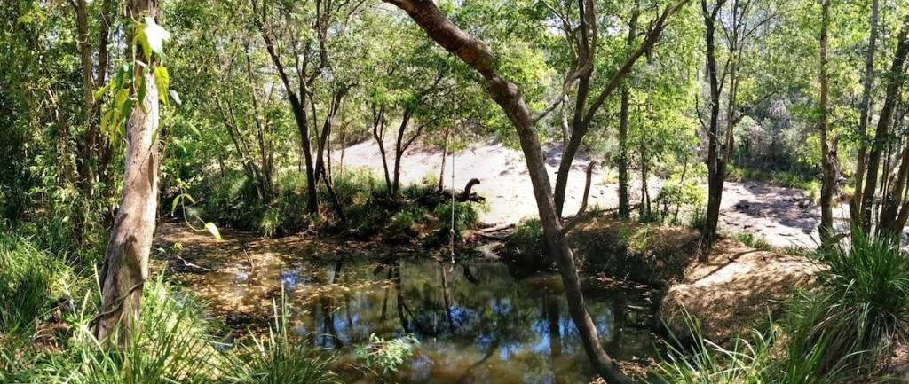 The Beerwah Waterhole Coochin Whirlpool 2014