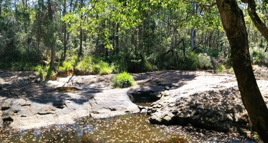 The Beerwah Waterhole Coochin Whirlpool also known as the Washing Machine 2014