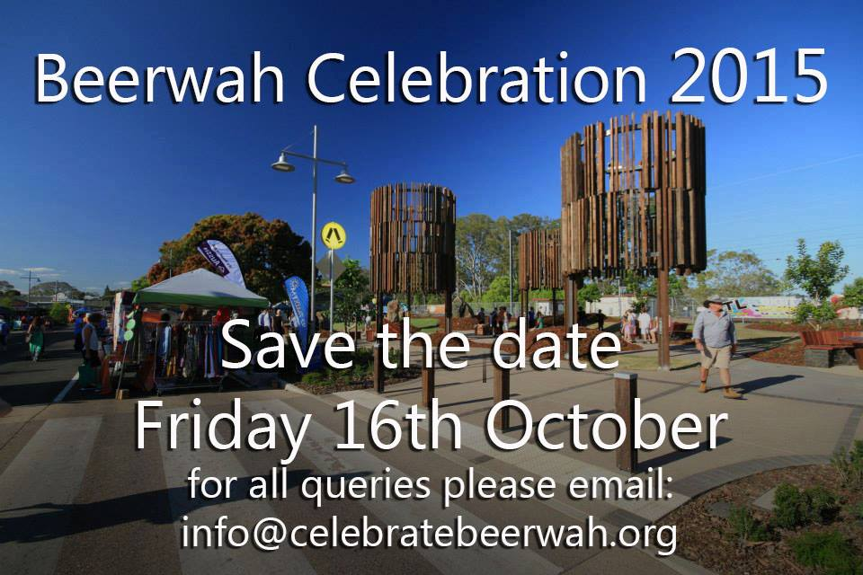 Celebrate Beerwah flyer