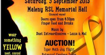 Support the Maleny Rural Fire Service on Saturday the 5 September, 2015