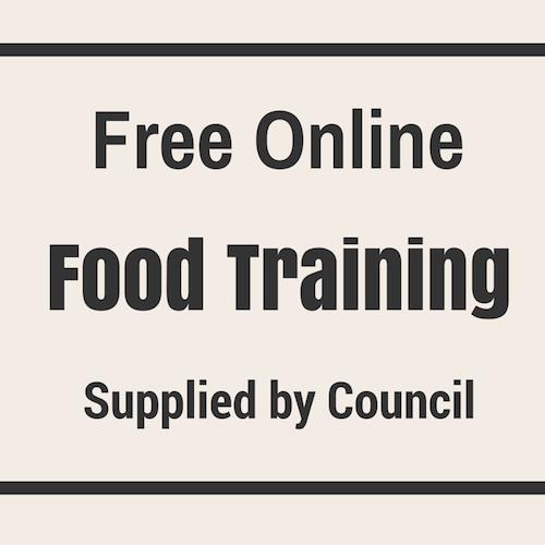 Free Online Food Training