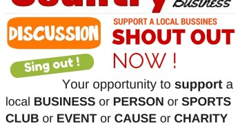 Shout Out in support of a Local Business or Person