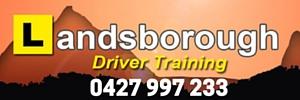 Ad Landsborough Driver Training 300x100