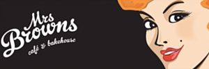 Ad Mrs Browns Cafe and Bakehouse 300x100